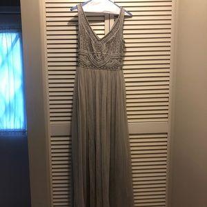 BHLDN Beaded Bridesmaid/ Formal Gown